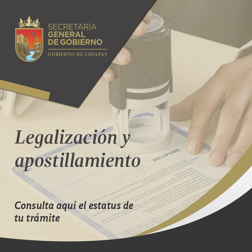 Legalización de documentos.