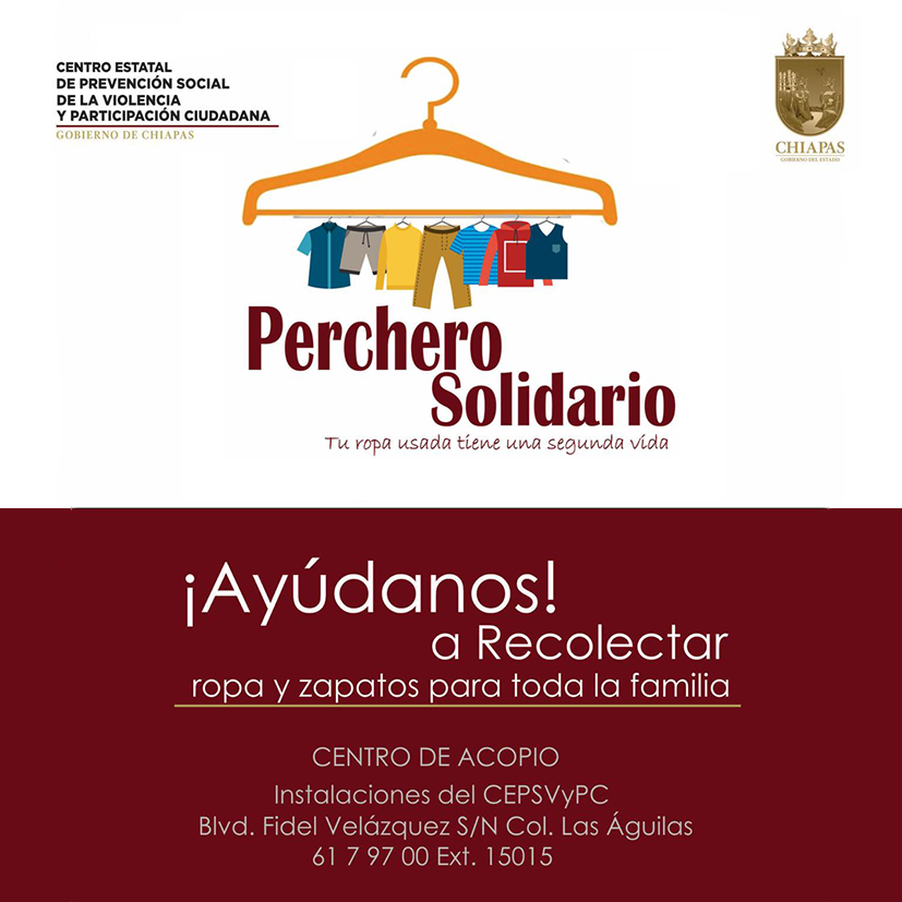 Perchero solidario